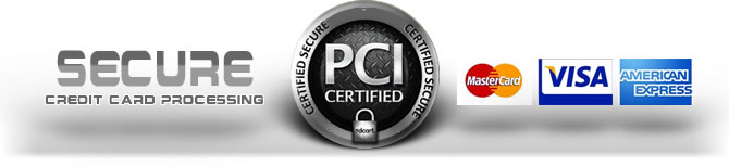 Secure Online Processing - PCI Certified